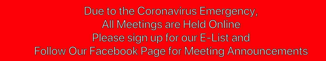 Covid-19 Online Meetings